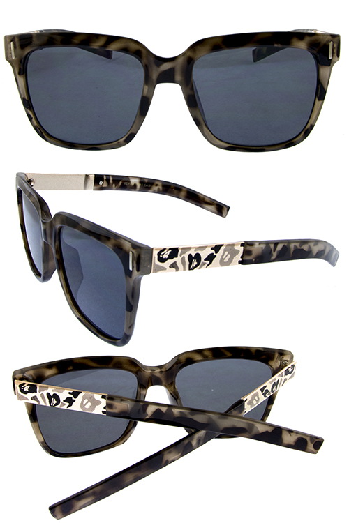 Womens safari blended blog square sunglasses