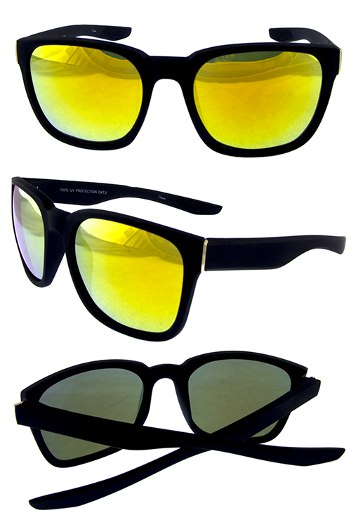 Mens flash mirror bold sunglasses