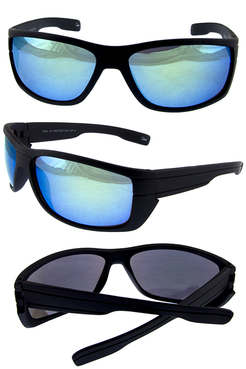 Mens lifestyle plastic sunglasses