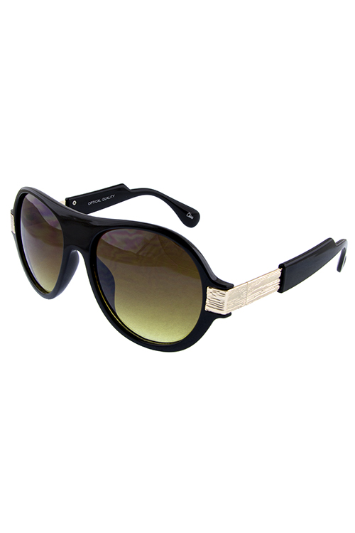 Womens mystic aviator metal detailed sunglasses