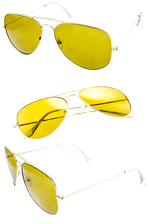 unisex classic retro aviator sunglasses