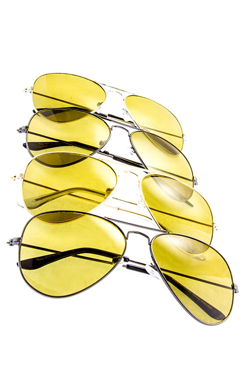 Unisex glass lens aviator sunglasses.jpg