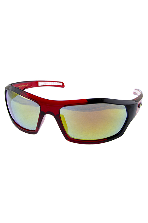Mens Xloop fully rimmed active square sunglasses