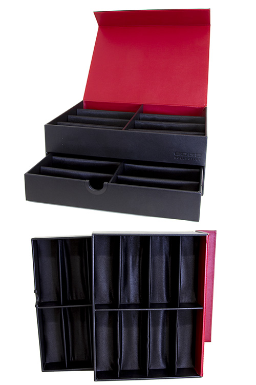 DoubleDeck sunglass case display box accessory