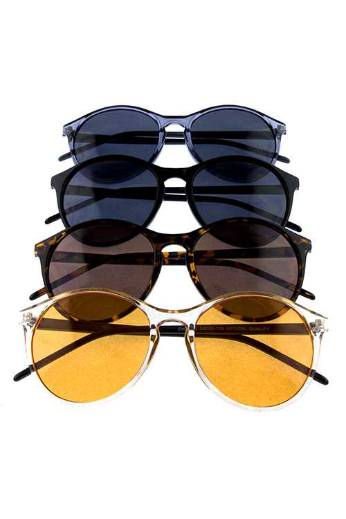 Womens classic plastic trendy retro sunglasses