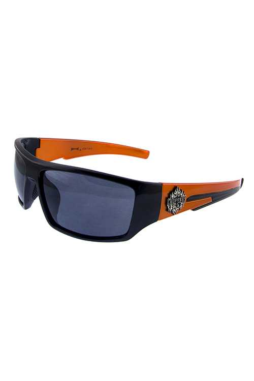 Mens chopper square plastic fashion sunglasses
