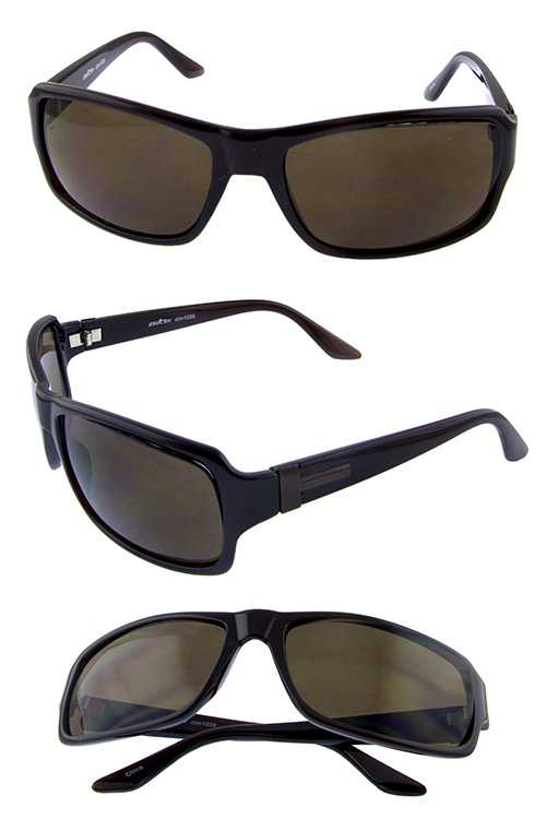 Men fully rimmed square style sunglasses