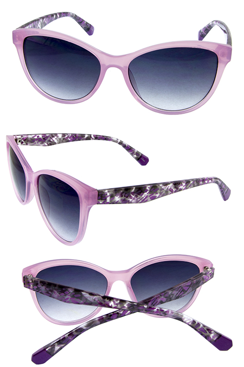 womens high pointed fashion sunglasses