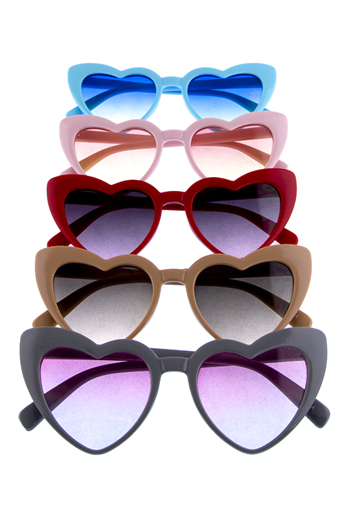 Womens lovely pointed novelty shaped popular sunglasses