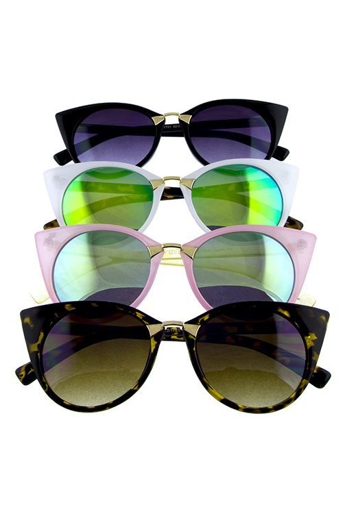 Womens ultra tip pointed sunglasses