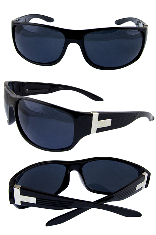 Mens premier action square sunglasses